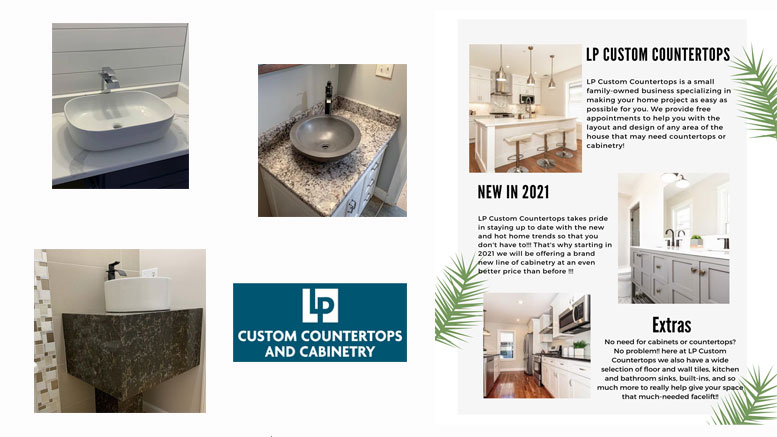 Creating the bathroom of your dreams- LP Custom Countertop & Cabinetry